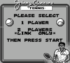 Jimmy Connors Tennis (USA, Europe)